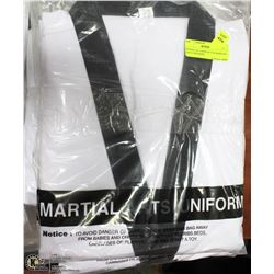 BUNDLE OF 5 NEW SZ 7/210 MARTIAL ARTS UNIFORMS