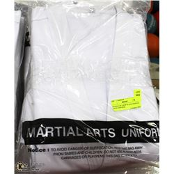 BUNDLE OF 5 NEW SZ 8/220 MARTIAL ARTS UNIFORMS