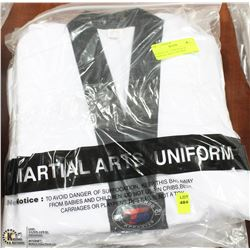 BUNDLE OF 3 NEW SZ 00/130 MARTIAL ARTS UNIFORMS
