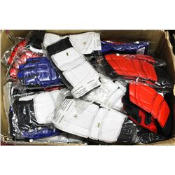 BOX OF 77 PAIRS OF MARTIAL ARTS GLOVES