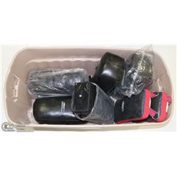 BOX OF 7 MARTIAL ARTS TRAINING PADS