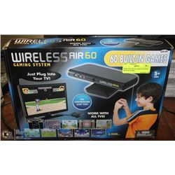 WIRELESS AIR 60 GAMING SYSTEM WITH 60 GAMES