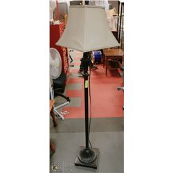 ANTIQUE BRONZE FLOOR LAMP