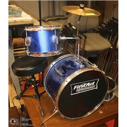 CHILDS BLUE DRUM SET