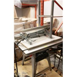 "DELTA 10"" CONTRACTORS TABLE SAW WITH SIDE"