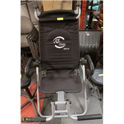 AB CHAIR DELUXE, FOLDS EASY FOR STORAGE