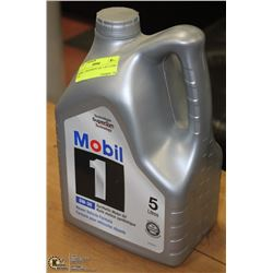 MOBIL 1 SYNTHETIC OIL 5-30 5 LITRE JUG
