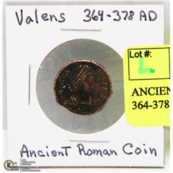 ANCIENT ROMAN COIN VALENS 364-378 AD