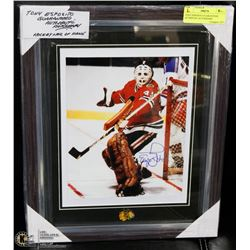 TONY ESPOSITO GUARANTEED AUTHENTIC AUTOGRAPH
