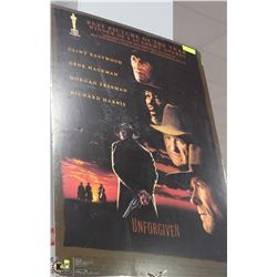 "UNFORGIVEN MOVIE POSTER HARDBACK 27""X40"""