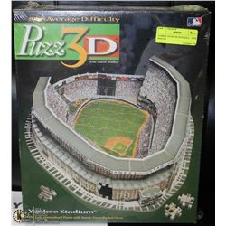 YANKEE STADIUM 3D PUZZLE    NEW  SEALED