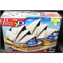 SYDNEY OPERA HOUSE 3 D PUZZLE   NEW   SEALED
