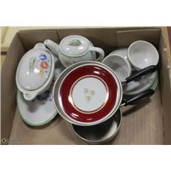 LOT OF KIDS MADE IN JAPAN SERVING SET