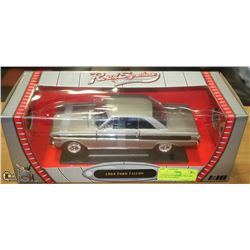 1:18 ROAD SIGNATURE 1964 FORD FALCON SILVER DIE