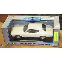 1:18 WELLY 1968 CHEVY CHEVELLE SS396 DIE CAST