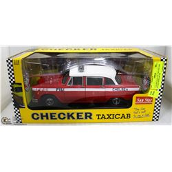 1:18 CHECKER CAB CHELSEA FIRE ENGINE SUNSTAR DIE