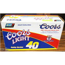 REVELL 1:18 COORS LIGHT R. GORDON DIE CAST NASCAR