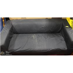 BLACK CLOTH IKEA LOVE SEAT