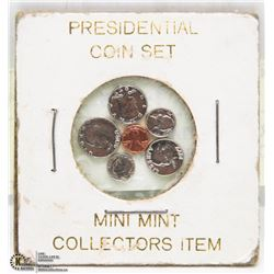1977 PRESIDENTIAL COIN SET MINI COLLECTORS ITEM