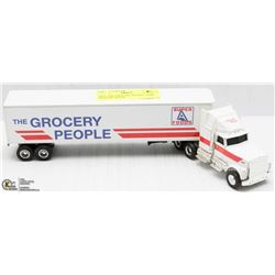 ERTL THE GROCERY PEOPLE SEMI TRAILER TRUCK