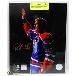 EDMONTON OILERS RYAN SMYTH SIGNED RETIREMENT