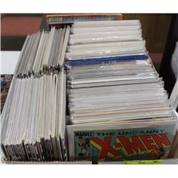 BOX OF ESTATE COMIC BOOKS  --- 235+ ISSUES