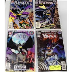 SET OF RARE BATMAN COMICS --- ALL # 0 ISSUES