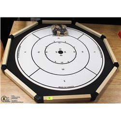 CROKINOLE BOARD GAME