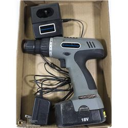18V DURABAND CORDLESS DRILL WITH CHARGER