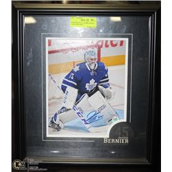 PROFESSIONALLY FRAMED MAPLE LEAFS JONATHAN