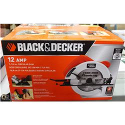 NEW BLACK AND DECKER 12 AMP 7-1/4 CIRCULAR SAW