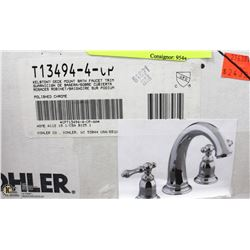KOHLER KELSTON DECK MOUNT BATH FAUCET POLISHED