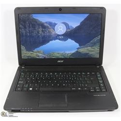 ACER TRAVELMATE iNTEL i5 LAPTOP W/WIN 10 PRO/500GB