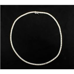 18 Inch Long 14K White Gold Chain