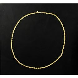 16 1/2 Inch Rope Chain