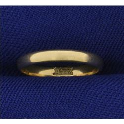 2.2mm Midi or Child Baby Ring Band in 14K Yellow Gold