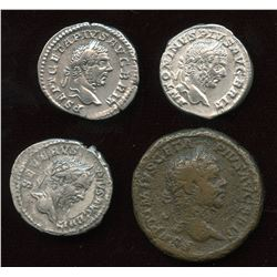 Severan  Victory over Britain  Lot (4 Pcs)