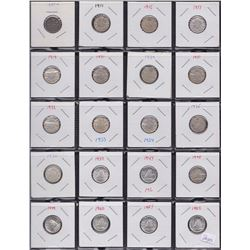 Canadian Lot of Ten Cents