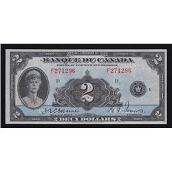 Bank of Canada $2, 1935 French Issue
