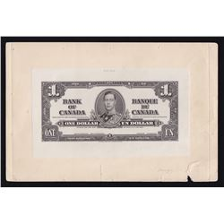 Bank of Canada $1, 1937