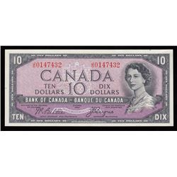 Bank of Canada $10, 1954 - Devil's Face