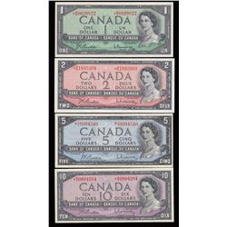 Bank of Canada $1 - $10 Replacement Set of Notes