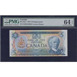 Bank of Canada $5, 1979