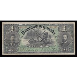 Dominion of Canada $1, 1897