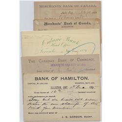 Canadian Bank Postal Stationery