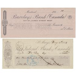 Canadian Cheques