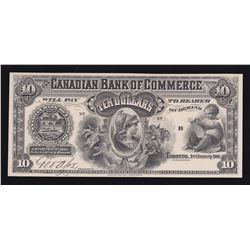 Canadian Bank of Commerce $10, 1906