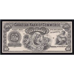 Canadian Bank of Commerce $10, 1907