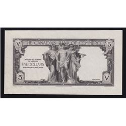 Canadian Bank of Commerce $5, 1935