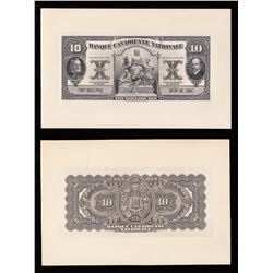Banque Canadienne Nationale $10, 1925